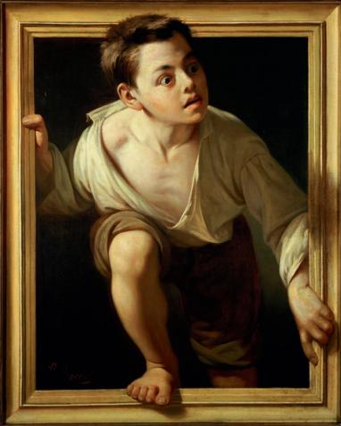 Escaping Criticism by Pere Borrel del Caso, 1874.